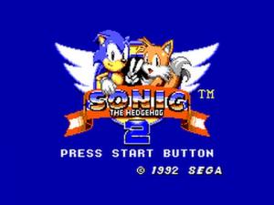 Sonic the Hedgehog 2 - USATO - MASTER SYSTEM