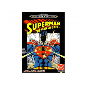 Superman: The Man of Steel - USATO - MEGADRIVE