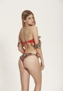 Bikini fascia Smerlata Maculato Cotazur