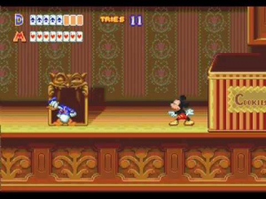 World of Illusion Starring Mickey Mouse and Donald Duck - USATO - MEGADRIVE