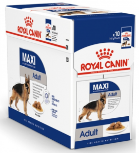 Royal Canin - Size Health Nutrition - Maxi Adult - 140g x 10 buste