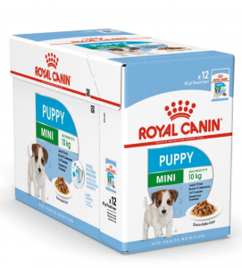 Royal Canin - Size Health Nutrition - Mini Puppy - 85gr x 12 buste
