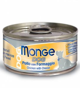 Monge Dog - Natural Superpremium - Sfilaccetti - 95g x 24 lattine