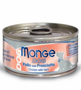 Monge Dog - Natural Superpremium - Sfilaccetti 95g x 24 lattine