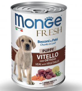 Monge - Fresh - Bocconi in Patè 400gr x 24 lattine