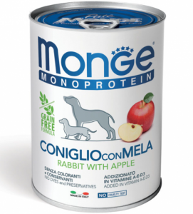 Monge Dog - Monoproteico - 400g x 24 lattine