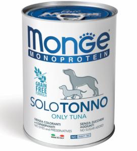 Monge Dog - Monoproteico - 400g x 24 lattine