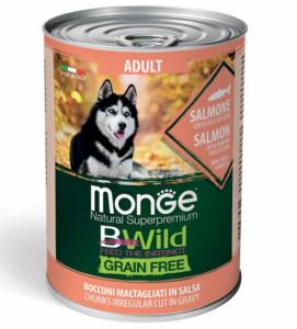 Monge - Bwild Grain Free - Adult - 400gr x 24 lattine