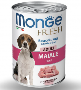 Monge - Fresh - Adult - 400gr x 6 lattine