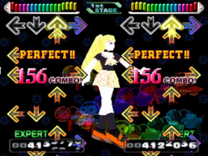 Dancing Stage Fever - USATO - PS1