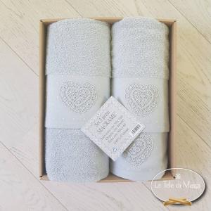 Set asciugamani 3 pezzi in scatola
