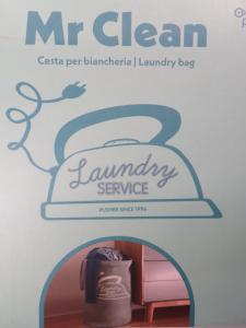 Sacco per lavanderia o stiro