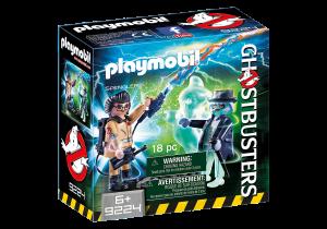 Playmobil 9224 GHOSTBUSTERS : Spengler e il Fantasma