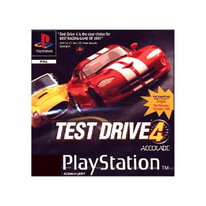Test Drive 4 - USATO - PS1