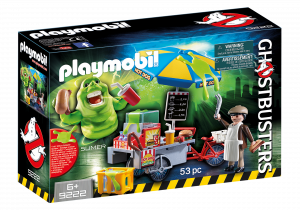 Playmobil 9222 GHOSTBUSTERS : Slimer e il Carretto degli hot dog