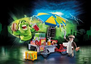 Playmobil 9222 GHOSTBUSTERS : Slimer e il Carretto degli hot dog