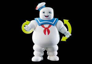 Playmobil 9221 GHOSTBUSTERS : Omino Marshmallow e Stantz
