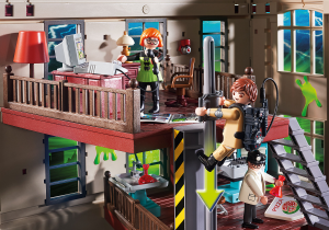 Playmobil 9219 GHOSTBUSTERS : Caserma dei Ghostbusters