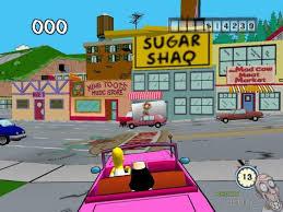 The Simpsons Road Rage - USATO - XBOX
