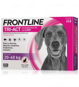Frontline - TriAct - Da 20 a 40 kg - 3 pipette