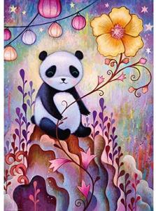 HEYE - DREAMING (by Jeremiah Ketner) Panda Naps - Puzzle 1000 Pezzi