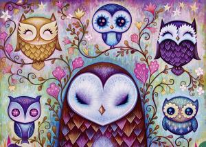 HEYE - DREAMING (by Jeremiah Ketner) Great Big Owl - Puzzle 1000 Pezzi