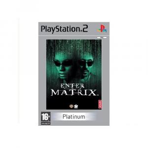 Enter the Matrix - platinum - USATO - PS2