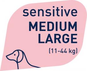 PROLIFE STERILISED SENSITIVE MEDIUM-LARGE MAIALE E RISO  2,5 KG