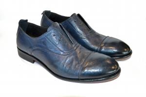 Exton Scarpa Uomo Francesina Soft Jeans 5363