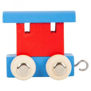 Vagone per trenino in legno nome bambini