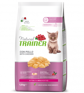 Trainer Natural - Kitten e Young 1,5 kg