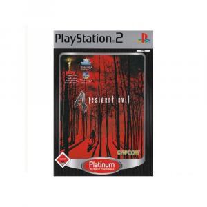 Resident Evil 4 - platinum - USATO - PS2