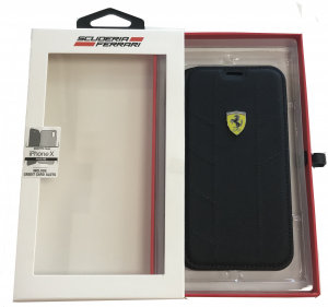 Ferrari Booktype Folio iPhone X
