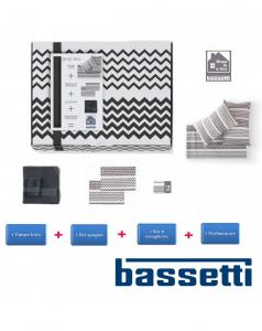 Bassetti GREY BOX - Home in a Box kit regalo singolo, letto-set 1+1-tovaglie