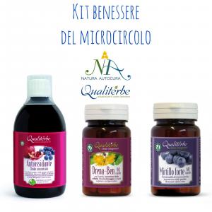 Kit Benessere del Microcircolo -20% con codice: naturautocra