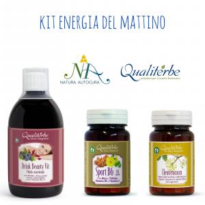 Kit Energia del Mattino -20% con codice: naturautocura