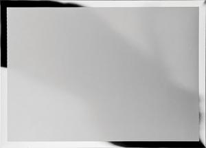 Targa rettangolare in alluminio per sublimazione 23x18cm cm.23x18x0,1h