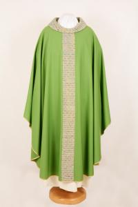 Casula CMB1K 774 Verde - Pura Lana - Stolone Seta Greggia
