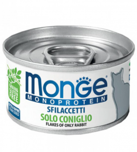 Monge Cat - Monoproteico 80g x 24 lattine