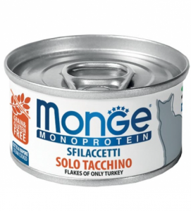 Monge Cat - Monoproteico 80g x 6 lattine