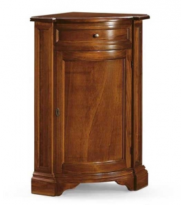 Corner cabinet in wood
