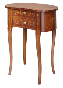 Shaped side table