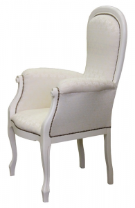Lacquered armchair Voltaire