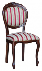 Classic chair with carving