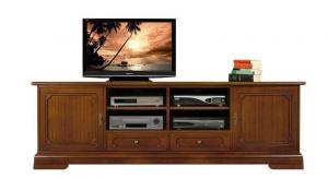 2 meters tv unit in wood