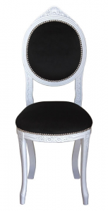 Lacquered classic oval chair