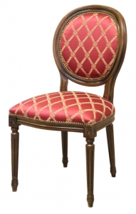 Classic chair with turned legs