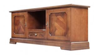 Brier wood TV cabinet for living room