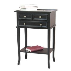 3 drawer side cabinet in wood