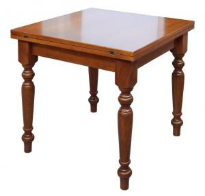 Flip top square table 90x90 cm